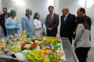 Ambassador Shorter visits Agrifresh in Zahle